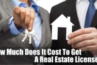 How Much Does It Cost To Get A Real Estate License (2020)