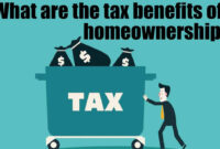 What are the tax benefits of homeownership?