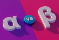 Alpha Vs. Beta: What's the Difference?